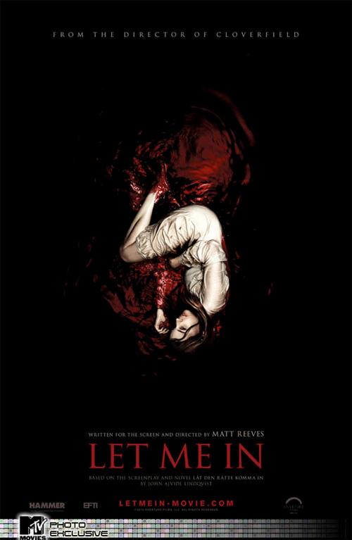 Filmposter zum Vampirhorror Let me In