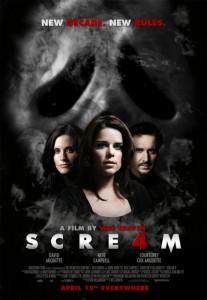 Scre4m Filmplakat