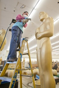 Oscar Statue Painting