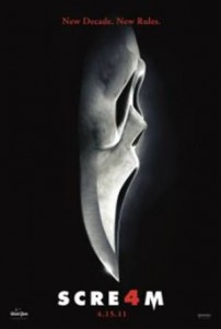 Scream 4 Filmplakat