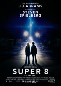 Super 8 Filmplakat