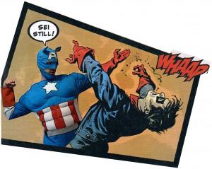 Captain America Finale Szene