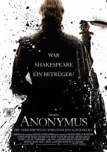 Anonymus Filmplakat
