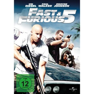 Fast & Furious Five DVD