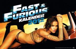 Fast & Furious Kalender 2012