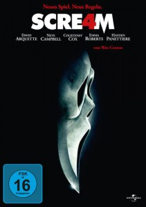 Scream 4 DVD Cover