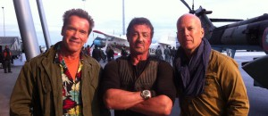 The Expendables 2 Filmset 2
