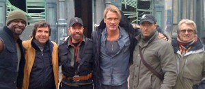The Expendables 2 Filmset