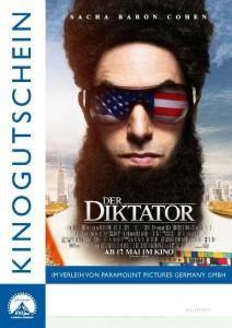 Der Diktator Kinofreikarten